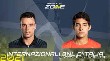 2021 Italian Open Second Round – Roberto Bautista Agut vs Cristian Garin Preview & Prediction - The Stats Zone
