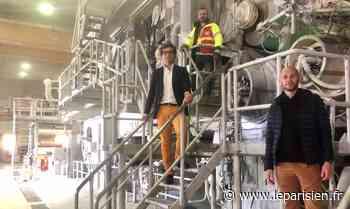 Grand-Couronne : l'espoir renaît pour la papeterie locale spécialiste dans le papier recyclé - Le Parisien