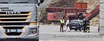 Albavilla, operaio ferito L'intervento dell'elicottero - La Provincia di Como