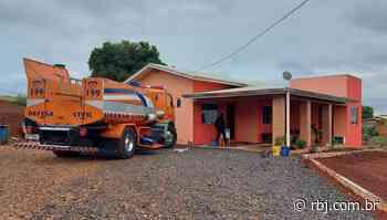Incêndio é registrado em residência na Vila Rural, interior de Chopinzinho - RBJ