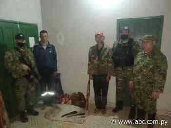 Detienen a presuntos abigeos e incautan evidencias en Mbuyapey - Nacionales - ABC Color