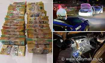 Unlucky driver stopped for not wearing a seatbelt is busted with $700,000 unexplained cash