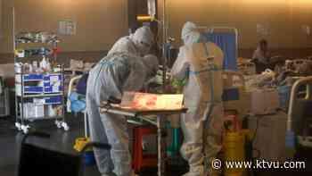 India's coronavirus doctors report 'black fungus' infections among some patients - KTVU San Francisco
