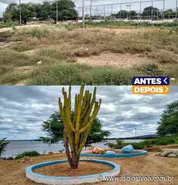 Prefeitura promove limpeza e melhorias na Orla de Santa Maria da Boa Vista - Blog do Didi Galvão