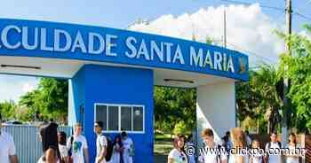 Faculdade Santa Maria inscreve para vestibular de medicina e mais 10 cursos com provas online e gratuitas - ClickPB