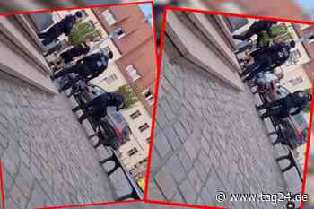 Video aus Wurzen macht die Runde: Polizist tritt Passant um! Nun wird gegen ihn ermittelt - TAG24