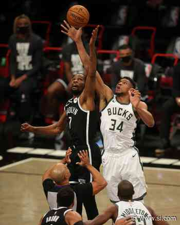 NBA Highlights: Kevin Durant With a Huge Dunk in Nets and Spurs Game - Sports Illustrated