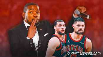 Nets news: Kevin Durant drops truth bomb on Zach LaVine, Bulls after win - ClutchPoints