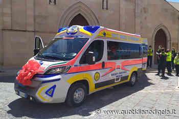 Procivis, inaugurata ambulanza per emergenza covid - quotidianodigela.it