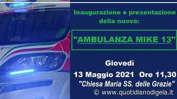 Nuova ambulanza per il soccorso per la Procivis - quotidianodigela.it