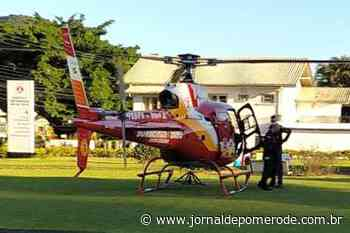 Arcanjo-03 realiza transferência de paciente para Blumenau - Jornal de Pomerode