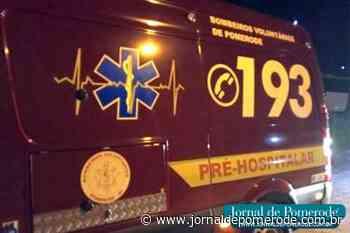 Motociclista fica ferido, após queda de moto, no Centro - Jornal de Pomerode