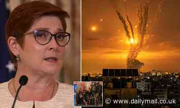 Foreign Minister Marise Payne has urged for an immediate stop to violence in the Gaza Strip