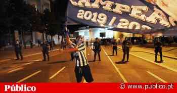 Há um ano, a festa do FC Porto não foi assim - PÚBLICO