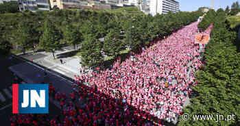 Corrida da Mulher no Porto com participantes de todo o mundo - Jornal de Notícias