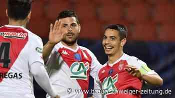 Ligue 1: AS Monaco erreicht französisches Pokalfinale gegen Paris