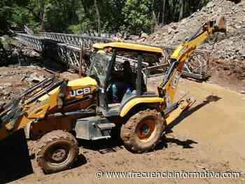 MOP Chiriquí, coloca estructura del puente sobre el río Gualaca. - Chiriquí - frecuenciainformativa.com