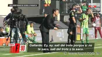 La intensidad de Marcelo Gallardo con José Paradela ante Aldosivi - ESPN