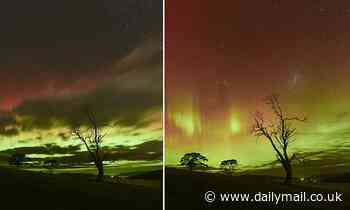 Incredible Southern Lights display shows dazzling Aurora Australis in Tasmania and Victoria