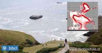 Identifican remolino de más de 10 kilómetros de diámetro en el mar al interior de Chiloé - BioBioChile
