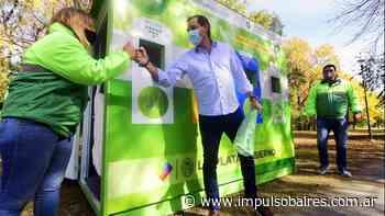 El Municipio inauguró un nuevo punto fijo de reciclaje en Villa Castells - Impulso Baires