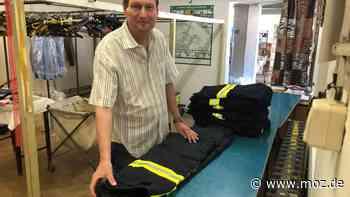 Wirtschaft während Corona: Feuerwehr hält Wäscherei in Strausberg über Wasser - moz.de