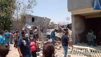 Explosión de compresor de aire deja dos lesionados en Tlaxcoapan - Criterio Hidalgo