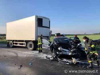 ORBASSANO - Incidente sulla provinciale 142: due feriti - TorinoSud