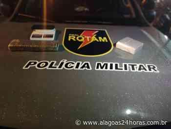 Guarnições da PM apreendem drogas em Rio Largo e Murici - Alagoas 24 Horas