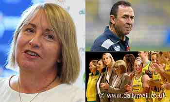 Australian Diamond's Lisa Alexander slams Canberra Raider's Ricky Stuart over 'sexist' comment