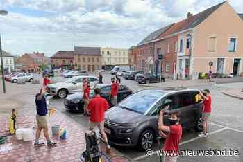 Chiro zorgt voor propere wagens (Herne) - Het Nieuwsblad