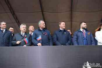 Tskhinvali Leader Visits Donetsk, Luhansk - Civil Georgia