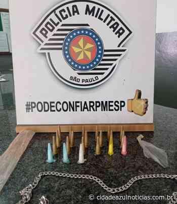Traficante de drogas é preso pela PM em Santa Gertrudes - Cidade Azul Notícias