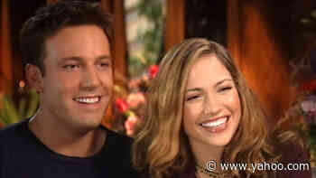 Ben Affleck & Jennifer Lopez Recall His 'Traditional' Proposal In Throwback 2003 Interview (Exclusive) - Yahoo Entertainment