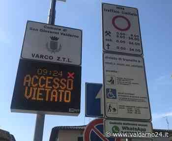 San Giovanni. Messaggio WhatsApp per segnalare l'accesso alla Ztl - Valdarno24