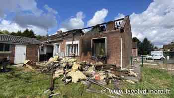 Bully-les-Mines : grâce à ses voisins, une retraitée sort indemne d'un impressionnant incendie - La Voix du Nord