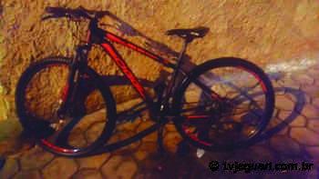 Bicicleta furtada em Artur Nogueira é localizada em Cosmópolis - TV Jaguari