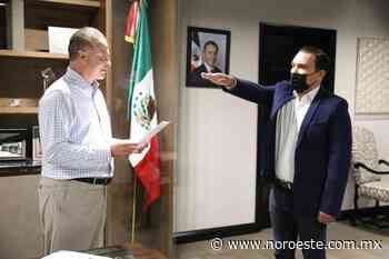 José Jeovan Rosas es nombrado Secretario de Agricultura y Ganadería estatal - Noroeste