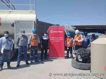 Sechura: Miski Mayo dona combustible para mejora de asentamientos humanos - El Regional