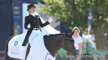 Dressurreiterin Jessica Bredow-Werndl aus Tuntenhausen gewinnt internationales Turnier in München