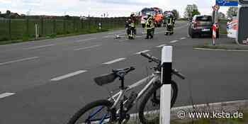 Unfall auf B 477 bei Kerpen: Beifahrerin und Radfahrer schwer verletzt - Kölner Stadt-Anzeiger