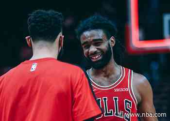 Balanced Bulls beat Raptors, play-in hopes live