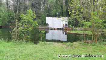 Saint-Laurent-Blangy : la rénovation de la fontaine monumentale du domaine de Vaudry a commencé - L'Avenir de l'Artois