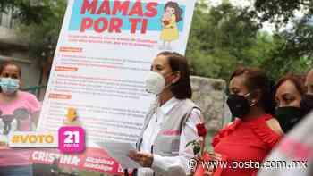 Dará Cristina apoyos a jefas de familia en Guadalupe - POSTA