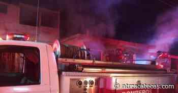 Se incendia tienda de abarrotes en Villas de Guadalupe - NTR Zacatecas .com