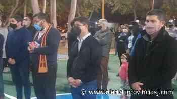Santa Lucía: inauguraron el polideportivo del barrio Tierra del Fuego - Diario La Provincia SJ