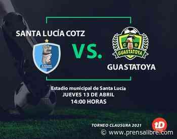En Directo: Santa Lucía Cotzumalguapa vs. Guastatoya - Prensa Libre