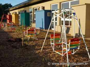 Apóstoles: realizaron la puesta en valor del Jardin Materno Infantil Santa Barbara - EL TERRITORIO