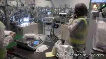 Lieusaint : Iris Ohyama fabrique 30 millions de masques par mois - Le Moniteur de Seine-et-Marne