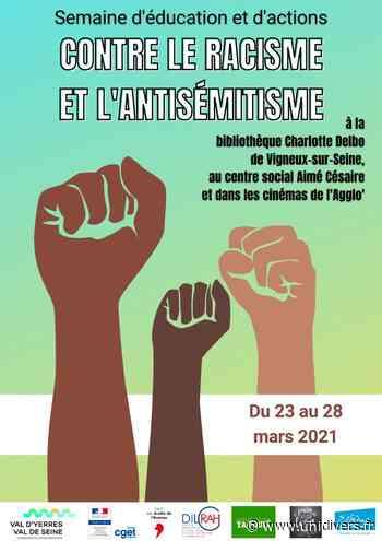 Exposition Dessine-moi le droit Centre social Aimé Césaire Montgeron - Unidivers